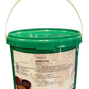 Деми глас тъмен сос в кутия х 1 кг. - за всякакви ястия от месо