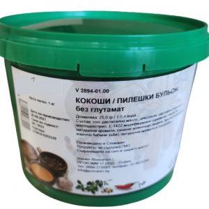 Кокоши бульон без глутамат в опаковка от 1 кг- Luxfoods
